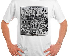 Camiseta Rock - Cream