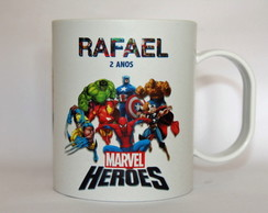 Caneca - Marvel Her�is - Personalizada