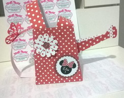 Regador personalizado scrap minnie