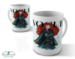Caneca Princesas Disney Merida
