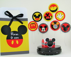 Topper 4 cm - Tema Mickey Mouse