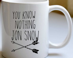 Caneca Cer�mica - You Know ...Jon Snow