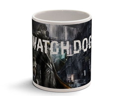 Caneca Cer�mica - Game Watch Dogs 01