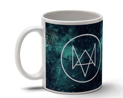 Caneca Cer�mica - Game Watch Dogs 04