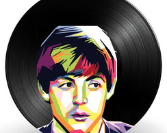 Paul McCartney no Disco de Vinil