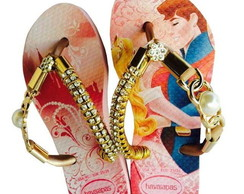 Havaiana Customizada Slim Princesa