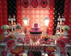 Decora��o de Festa Barbie em Paris