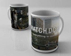 Caneca Cer�mica - Game Watch Dogs 05