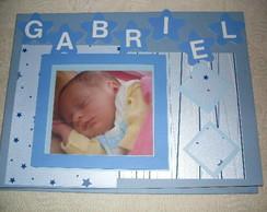 Scrapbook/ caderno Assinatura Nascimento