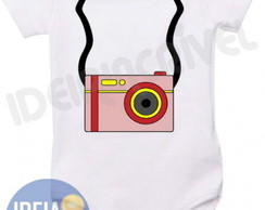 Body Infantil - Mini Fotogr�fo