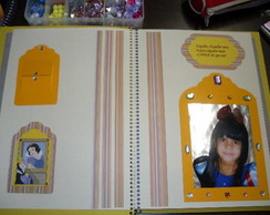 Caderno Scrapbook/ P�ginas internas (dec