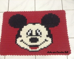 Tapete Croche Barbante Mickey