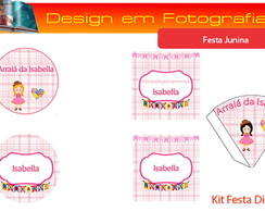 Kit Digital - Festa Junina