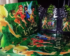 Kit Maleta e Quebra Cabe�as -Tinkerbell