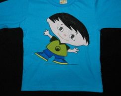 camiseta pintada � m�o do JUPITER