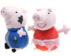 Kit 2 Pleucias Peppa Pig
