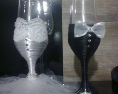 Ta�a Customizada P/ Bride dos Noivos
