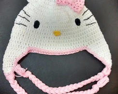 GORRO HELLO KITTY COM TRAN�AS