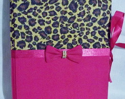 �lbum de Fotos On�a Pink 15x21