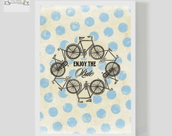 Poster Decorativo Bike Vintage Ride