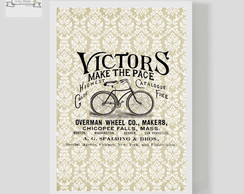 Poster Decorativo Bike Vintage Victors