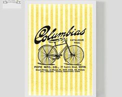 Poster Decorativo Bike Vintage Columbias