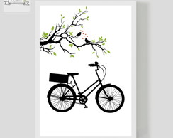 Poster Decorativo Bike Love