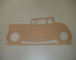 Carro Hot Rod - MDF 6mm - 70 x 34cm