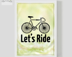 Poster Decorativo LET'S RIDE