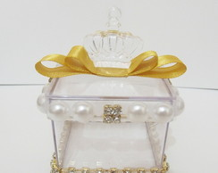 caixinha personalizada gold of princess