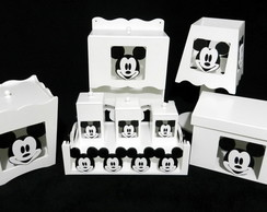 KIT BEB� MICKEY COMPLETO - 8 PE�AS