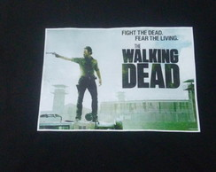 camisa meia manga the walking dead