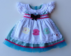 Vestido Alice in Wonderland