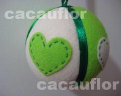 Bola de natal verde 02