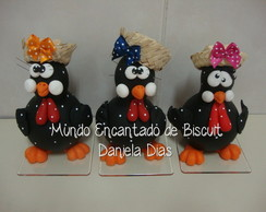 Galinhas de caba�as com biscuit