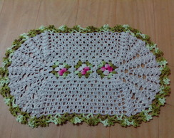 tapete barbante crochet