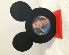 Porta retrato Minnei e Mickey