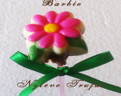 Pirulito De Chocolate flor BARBIE