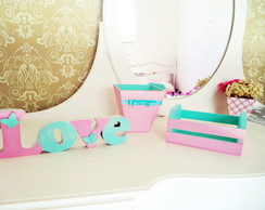 Decora��o para quarto candy color