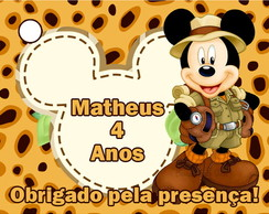 Tag Safari Mickey Mouse