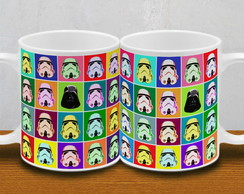 CANECA STORMTROPPER - STAR WARS POP ART