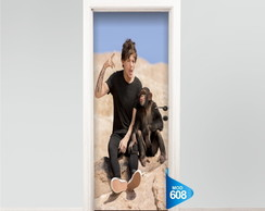 ADESIVO Porta One Direction 1d LOUIS 608