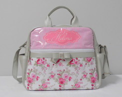Kit Candy Cotton Algod�o/Floral Branco