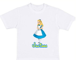 Camiseta - Alice In The Wonderland