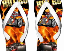 Chinelo Personalizado Hot Rod