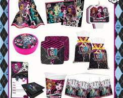 KIT FESTA INFANTIL MONSTER HIGH