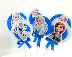 Frozen - Toppers para doces