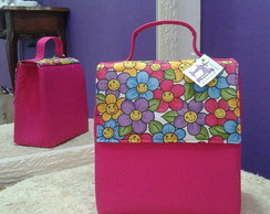 Lunch Bag T�rmica Margaridas C/Al�a