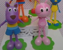 Kit Backyardigans c/ 5 personagens