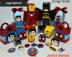 Scrap Festa LEGO MARVEL